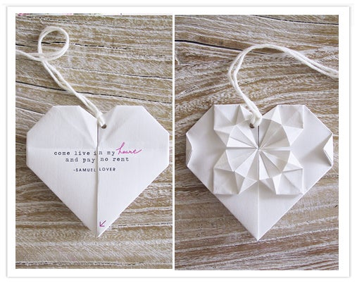 How to Make an Origami Valentines Blossom Heart!