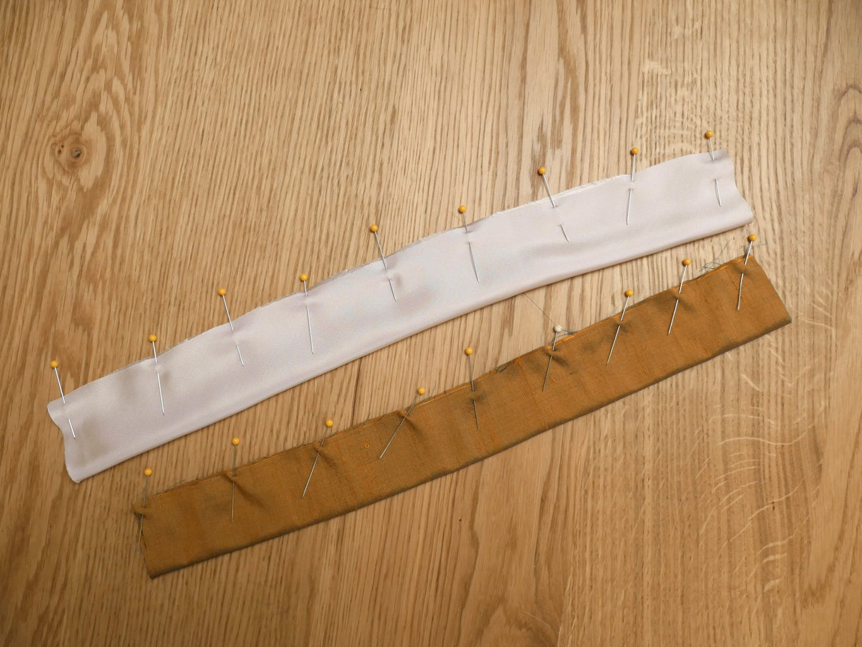 Pin & Sew Long Seam
