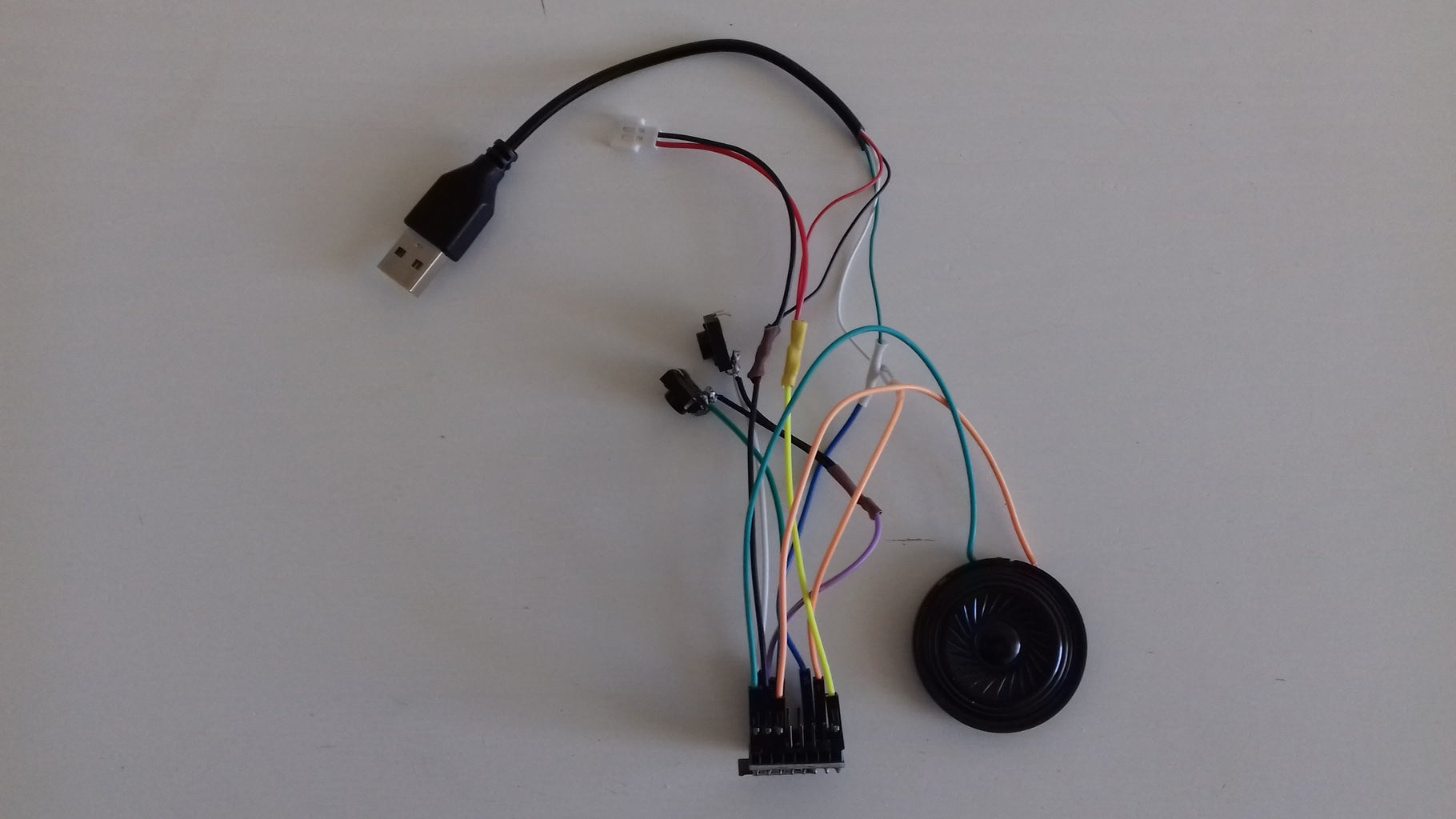 From an IKEA Vackis Alarm Clock to a Cool MP3 Player With USB Cable Using a DFPlayer Sound Module
