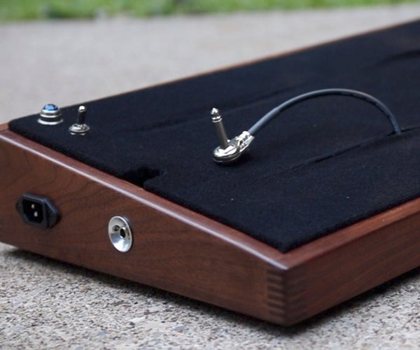 How to Make a Guitar Pedalboard