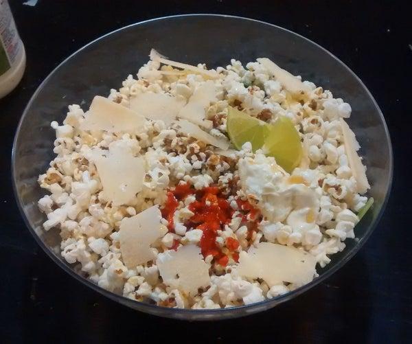 TechShop Popcorn Salad - Made @TechShop