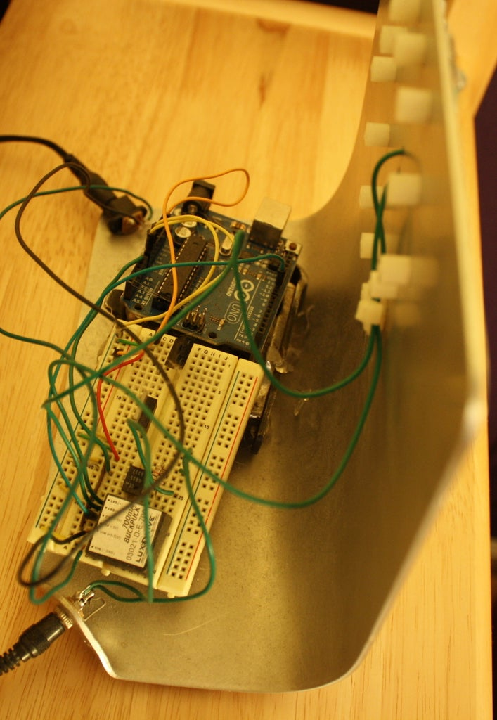 Arduino Controlled Sunrise Alarm Clock