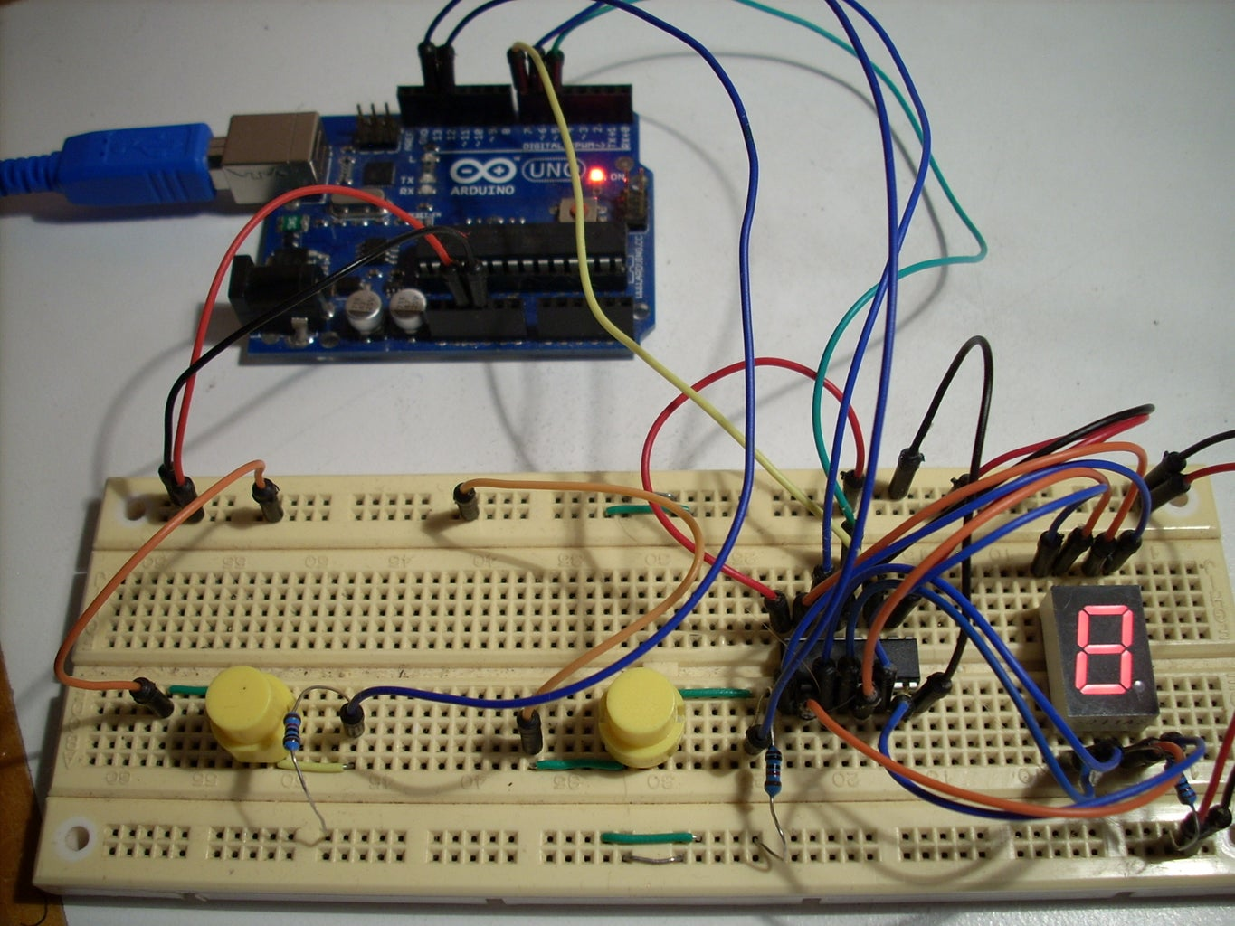 Different Methods of Driving 7 Segment LED Displays With Arduino