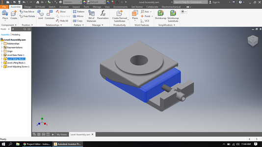 How to Make an Assembly in Inventor