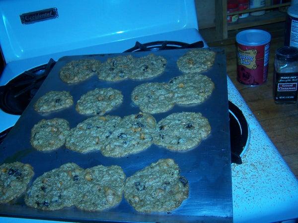 Oatmeal Raisin Butterscotch Cookies