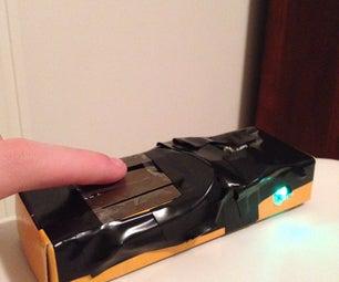 Touch Sensing Flashlight