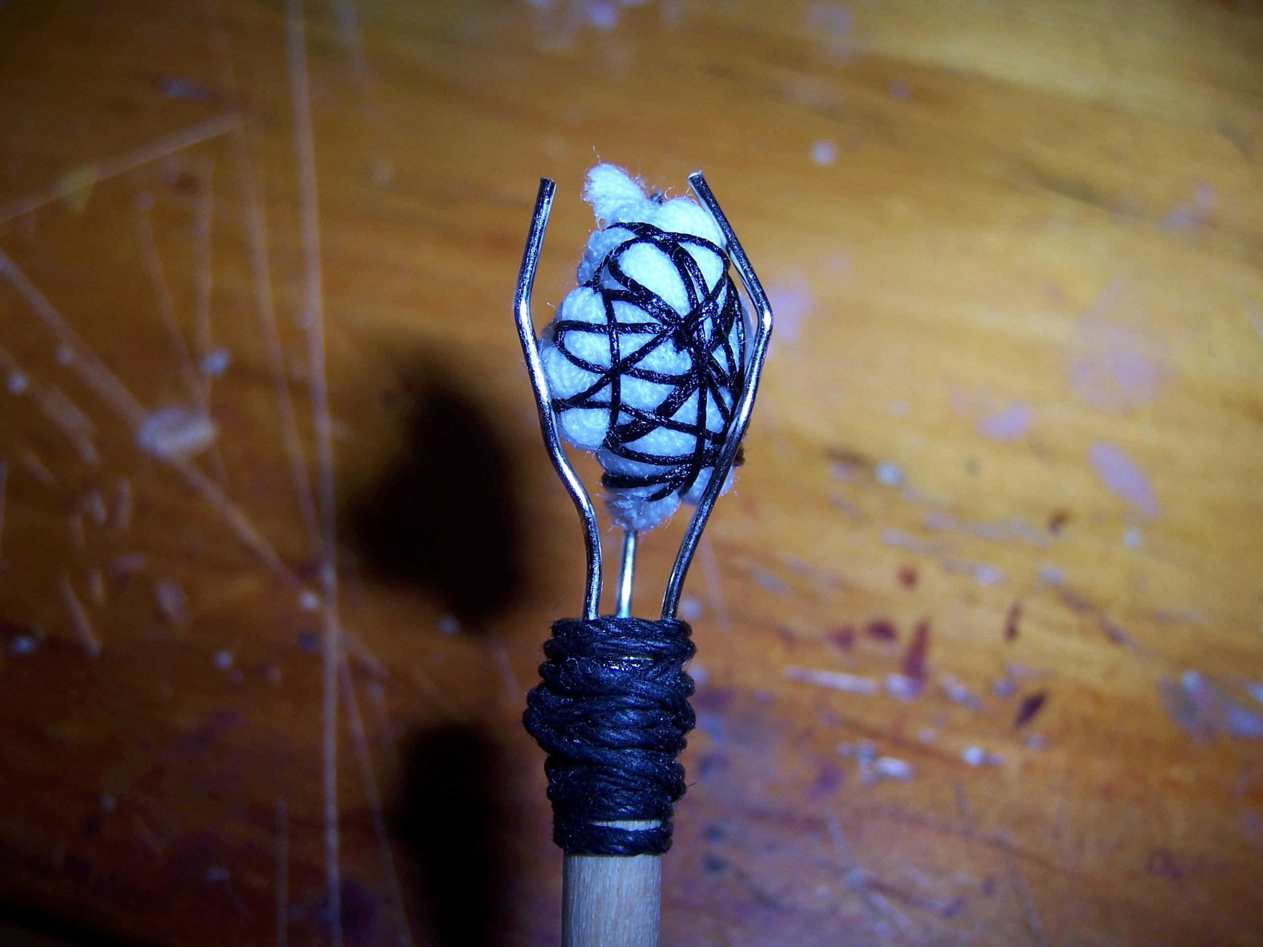 mini medieval torch
