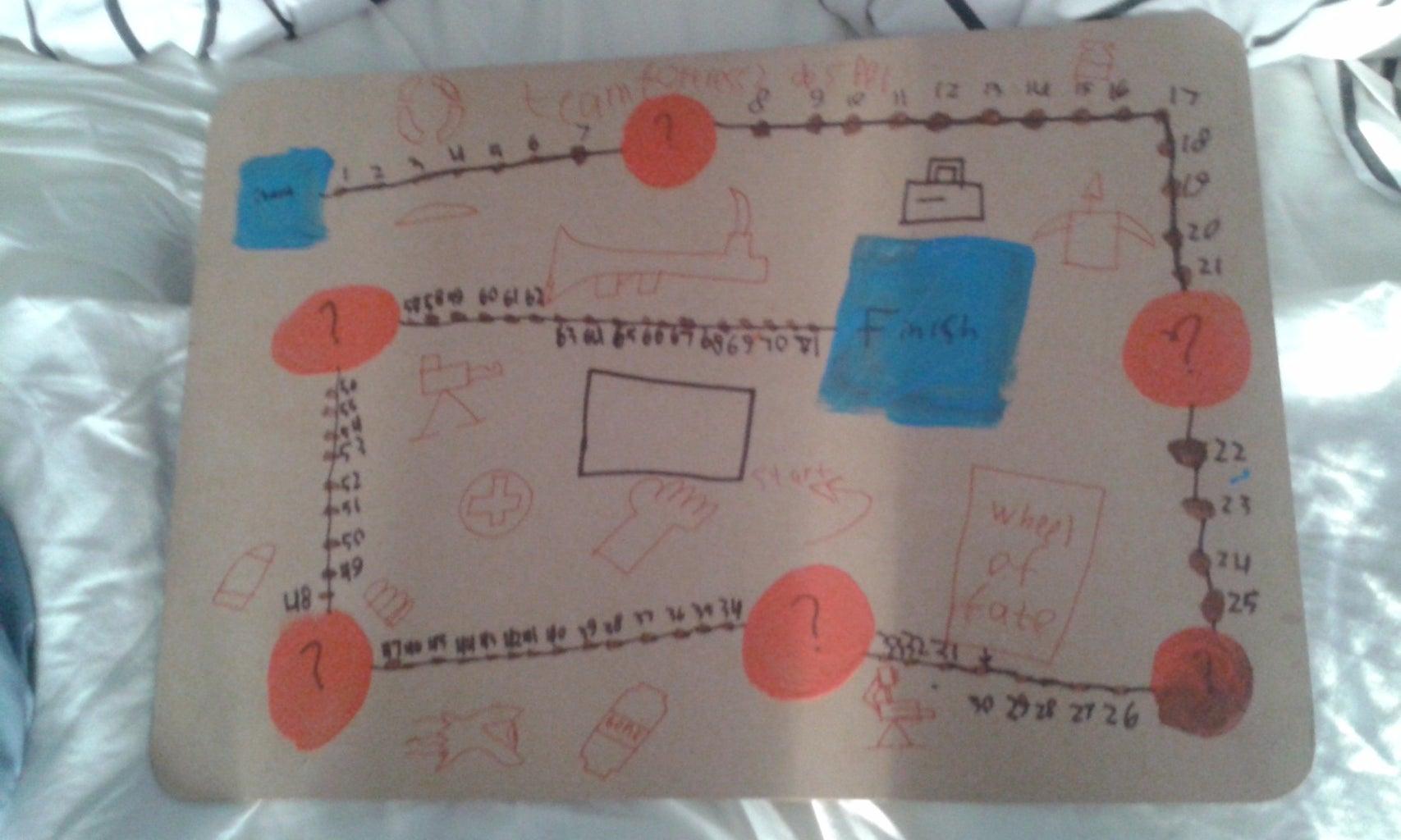 Making a TF2 Board Game