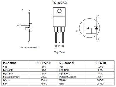 Selecting H-Bridge Components