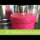 How to Make a Box Using Air Dry Clay