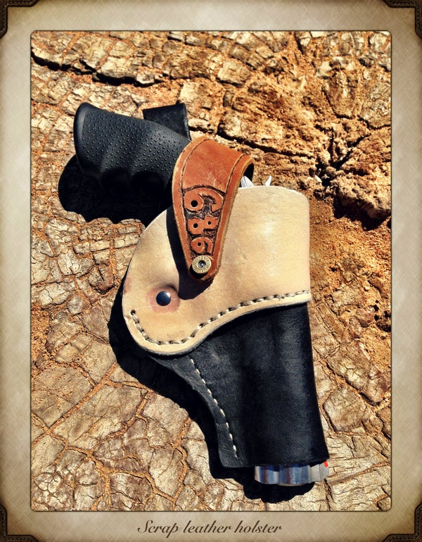 Build a Scrap Leather Holster