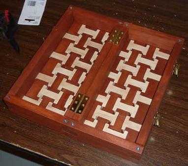 Interlocking Chess Board