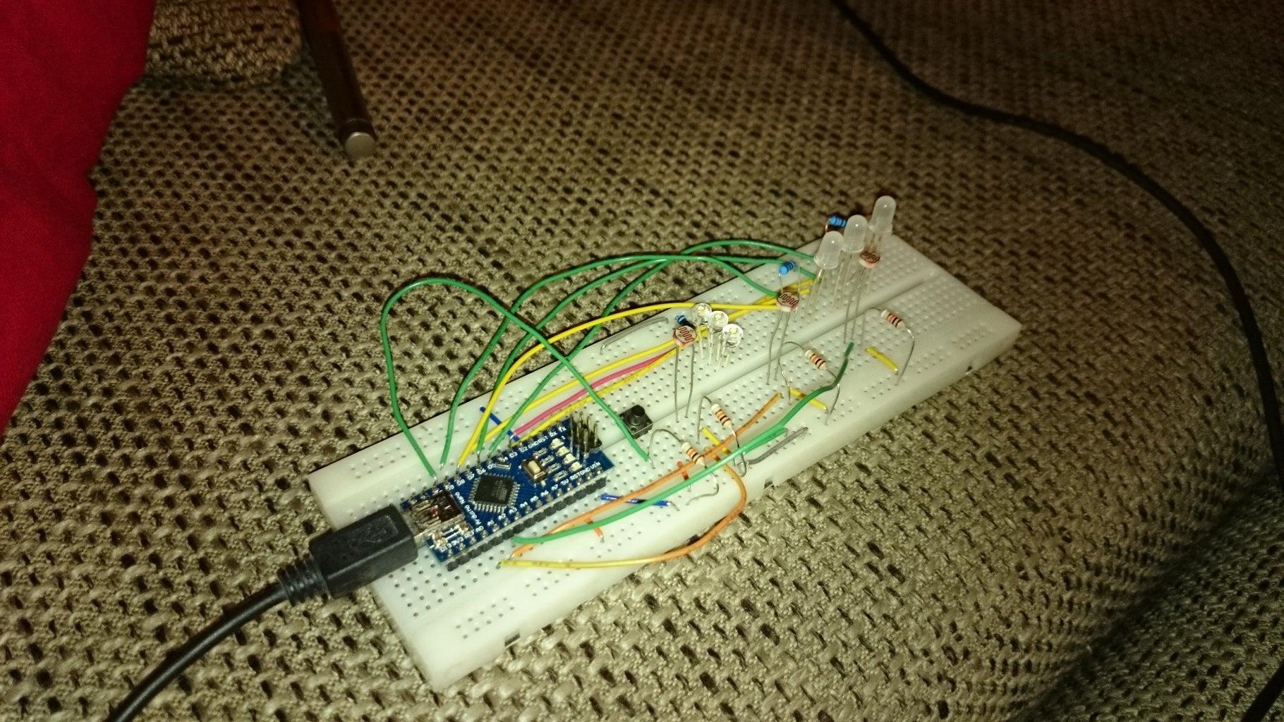 Building the FINISH (electronics)