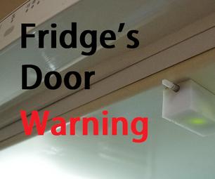 Fridge's Door Warning (easy Schematic)