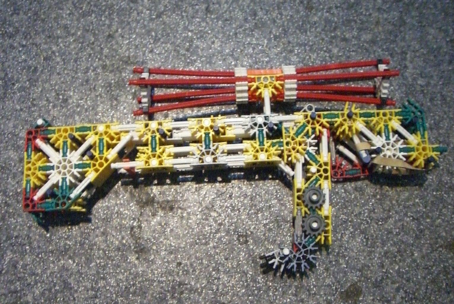 K'NEX Crossbow V1.0 Work in Progress