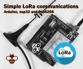 Simple Arduino LoRa Communciation (more Than 5km)