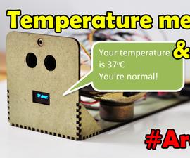 Temperature Measuring Automatic & Voice Inform