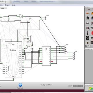 Arduino Circuit Sketching Application