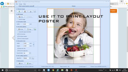 Creating Sample Poster
