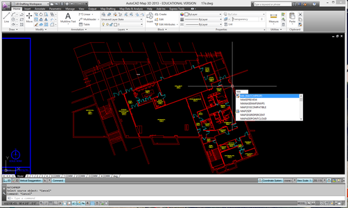 Creating Basic Floor Plans From An Architectural Drawing In Autocad 16 Steps With Pictures Instructables