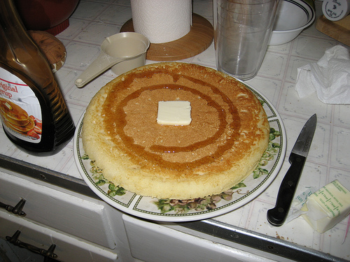 The Lazy Man's Pancake