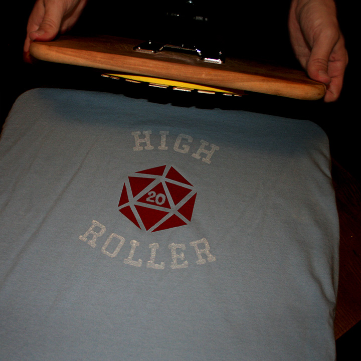 Build your own t-shirt printing press