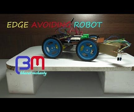 EDGE AVOIDING ROBOT