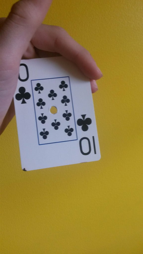 How to Hold the Card