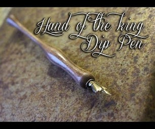 The Hand of the King Dip Pen
