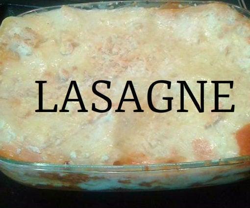 Lasagne, My Way