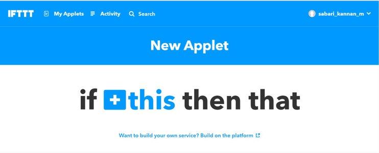 Creating New Applet:
