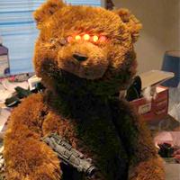 Cylon Teddy Bear