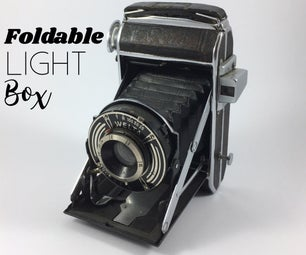 Foldable Homemade Light Box