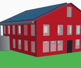 How to Make a Sustainable House in Tinkercad