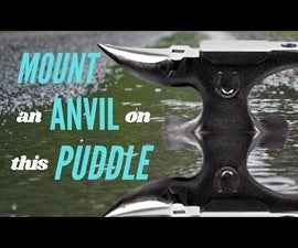 Mounting an Anvil With a Puddle