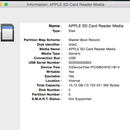 Restore DMG to SD Card - MAC OS X