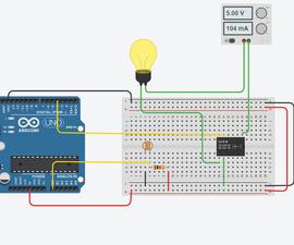 Arduino Light Intensity Lamp