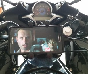 How to Install a RAM Phone Mount on a Motorcycle