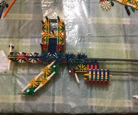 K'nex Pump-action Gun
