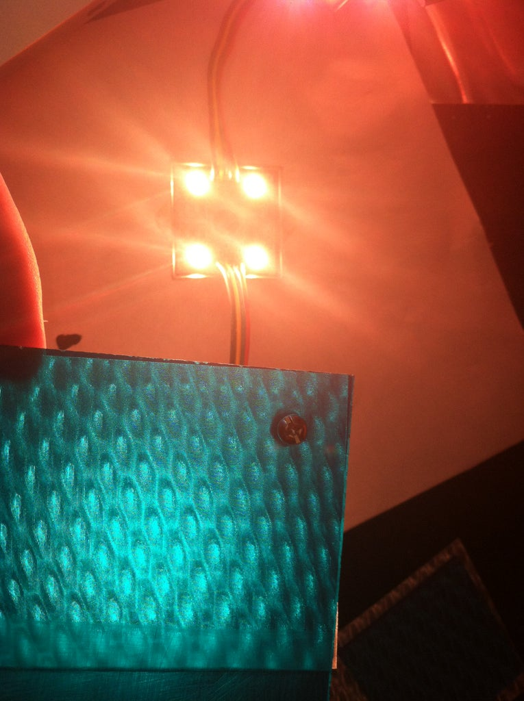 Testing Pixel Materials With LEDs