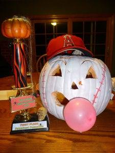 Baseball Pumpkin