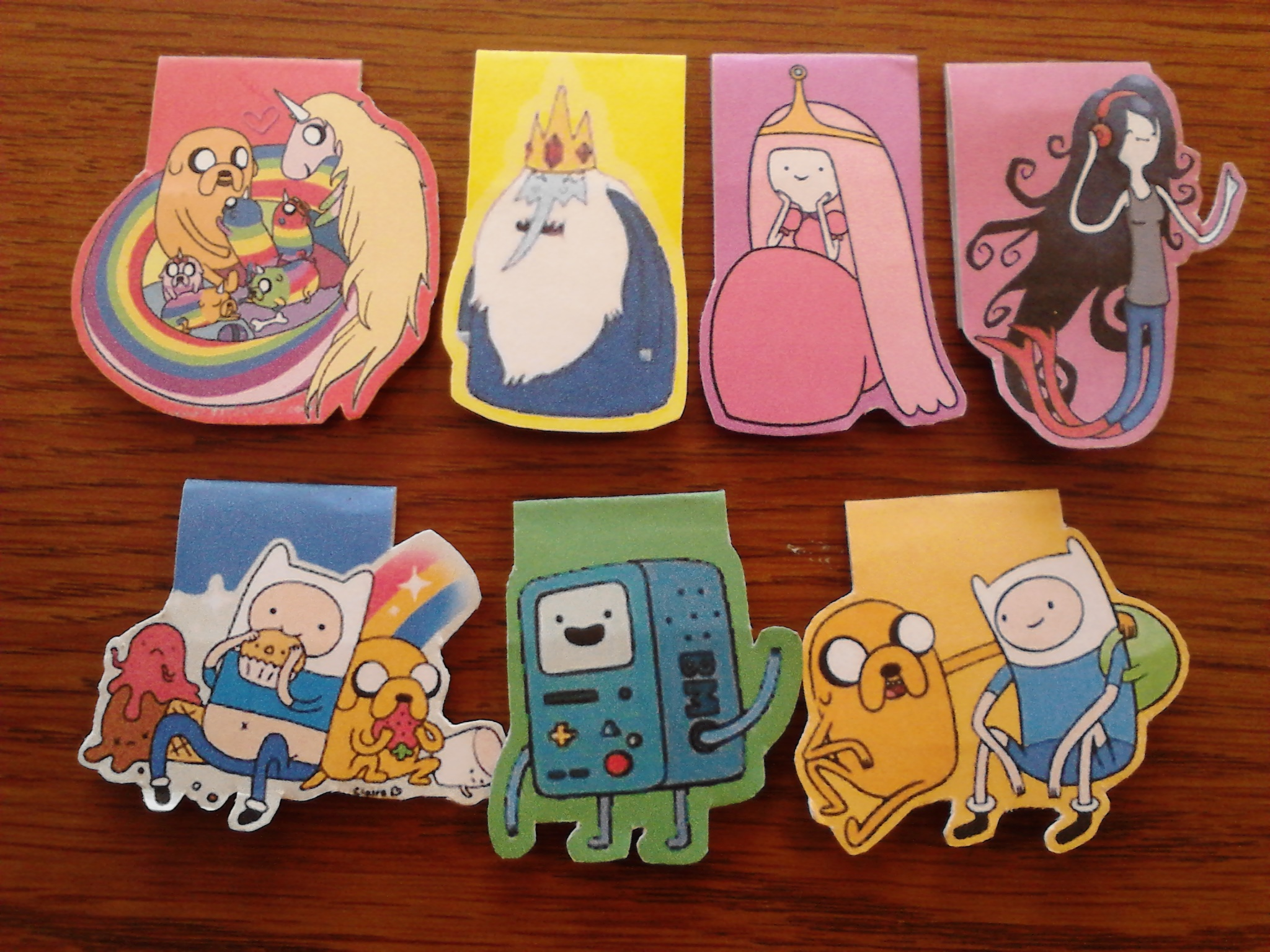 Adventure Time Magnetic Bookmarks