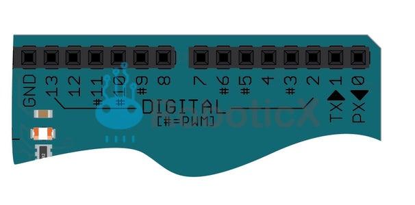 (INPUT & OUTPUT PINS (I/O  داخل و مخارج التحكم