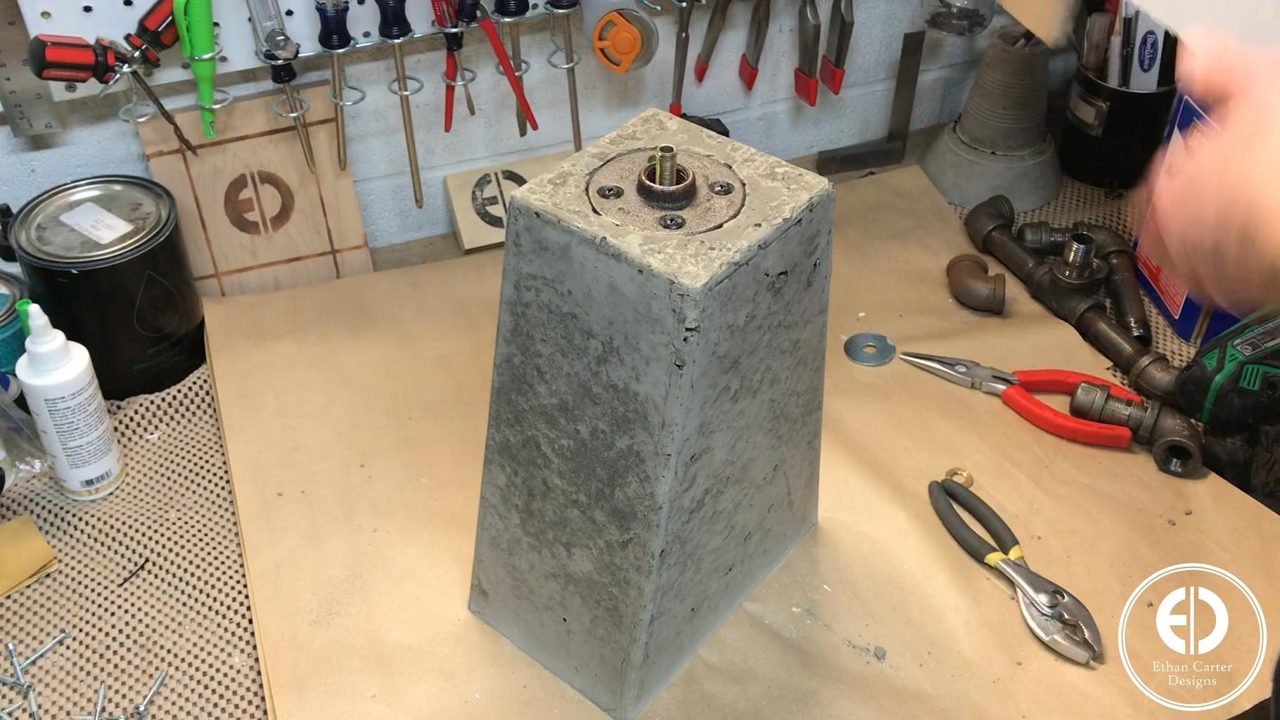Pouring the Concrete