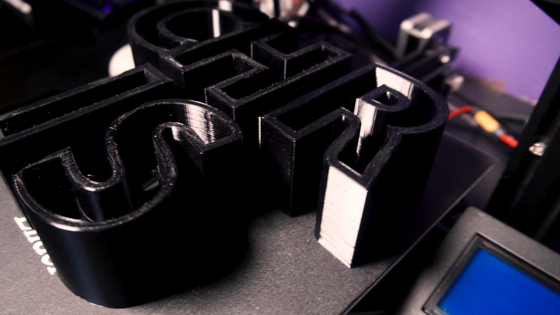 3D Print the Pieces
