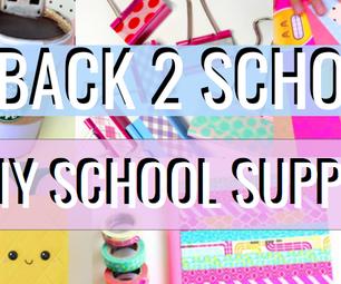 DIY Back to School Supplies