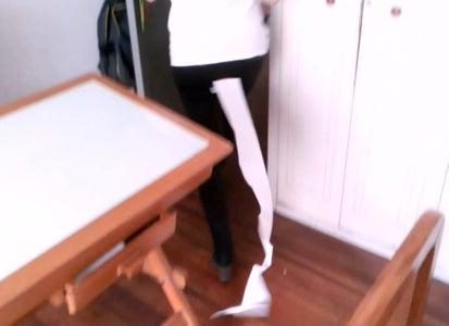 Prank Bath Paper Tail