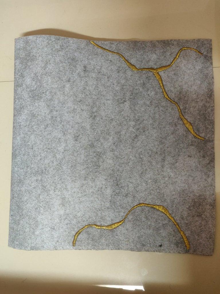 Kintsugi Inspired Embroidery