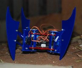 """Miles"" the Quadruped Spider Robot"