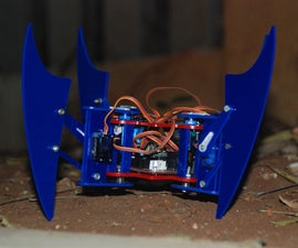 """Miles"" the Quadruped Spider Robot"